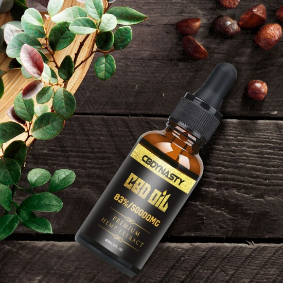 CBDYNASTY 83% 50000mg 60ml Hemp Oil, Immune booster